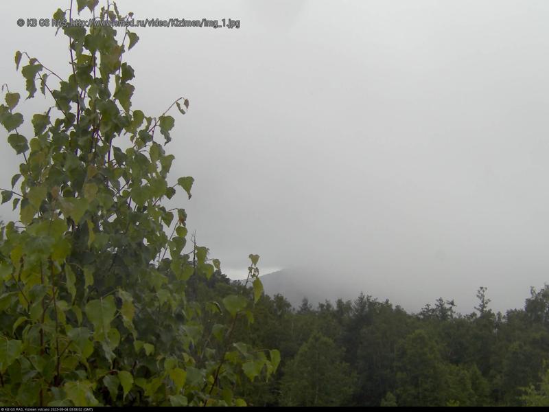 Веб-камера вулкана Кизимен
